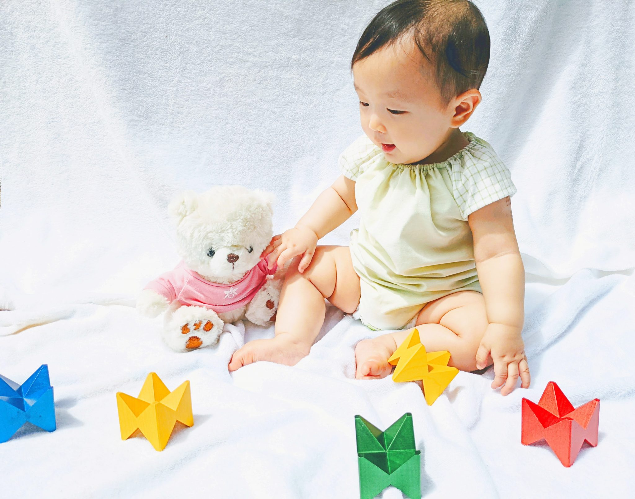 【型紙不要】1着550円で完成!初心者でも作れる赤ちゃんロンパースの作り方 ベビー服作り方